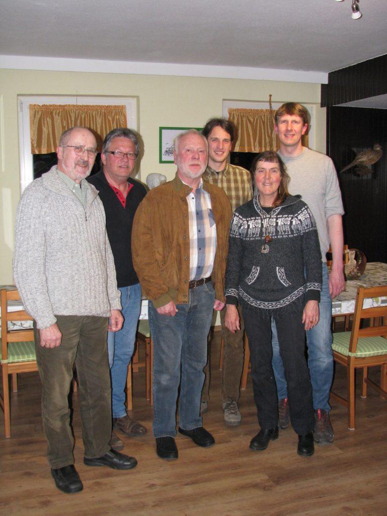 Von links nach rechts: Dr. rer. nat. Michael Wunderlich, Udo Effertz, Claus Tormöhlen, Christian Vogel, Uta Lansing, Dr. Marcel Holy